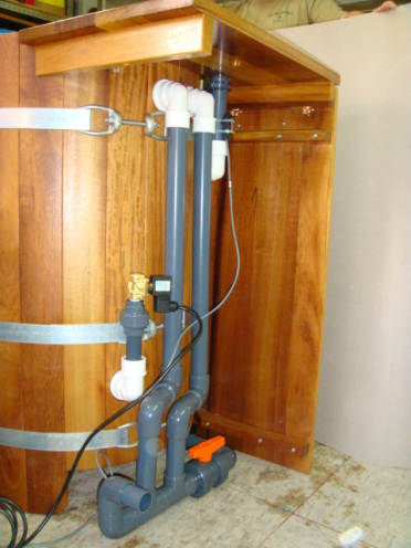 NF-Rohrset, doppelter Überlauf, Kugelhahn, Steigrohr, Einlauf, Magnetventil, Wasserstandssensor, Wasserstandsensor, Nachfüllregelung, Nachfüllautomatik
