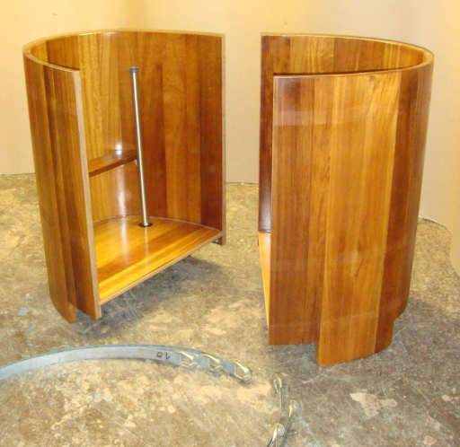 teilbarer Bottich, Saunabottich teilbar, dividable, divisible, 2-teilig, zerlegbar, Sauna-Tauchbottich, Saunatauchbottich, Saunatauchbecken, Tauchbottich, Tauchbecken, Dompelton, saunatub, sauna-tub, sauna tub