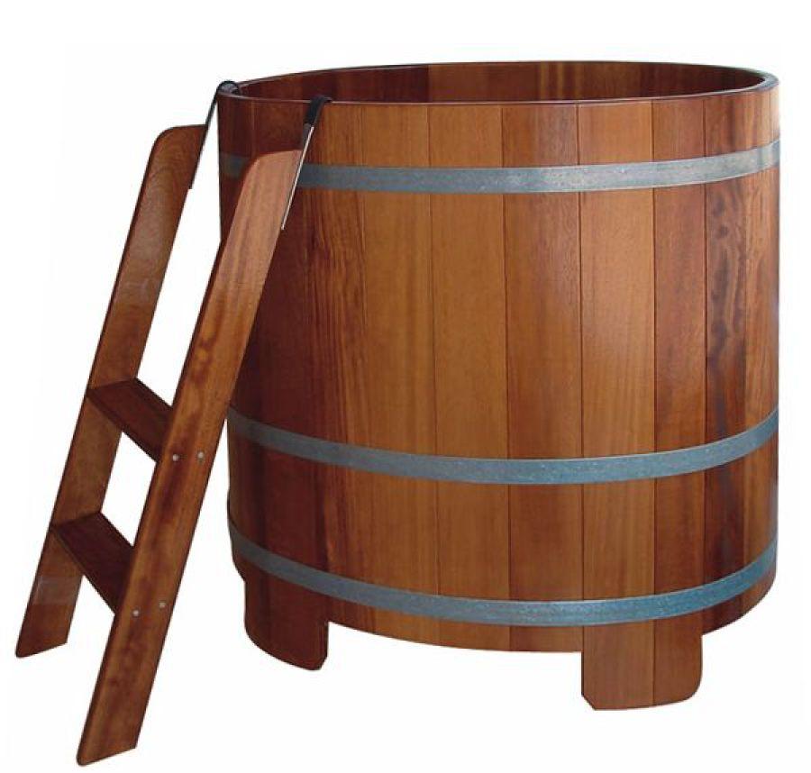 Sauna-Tauchbottiche