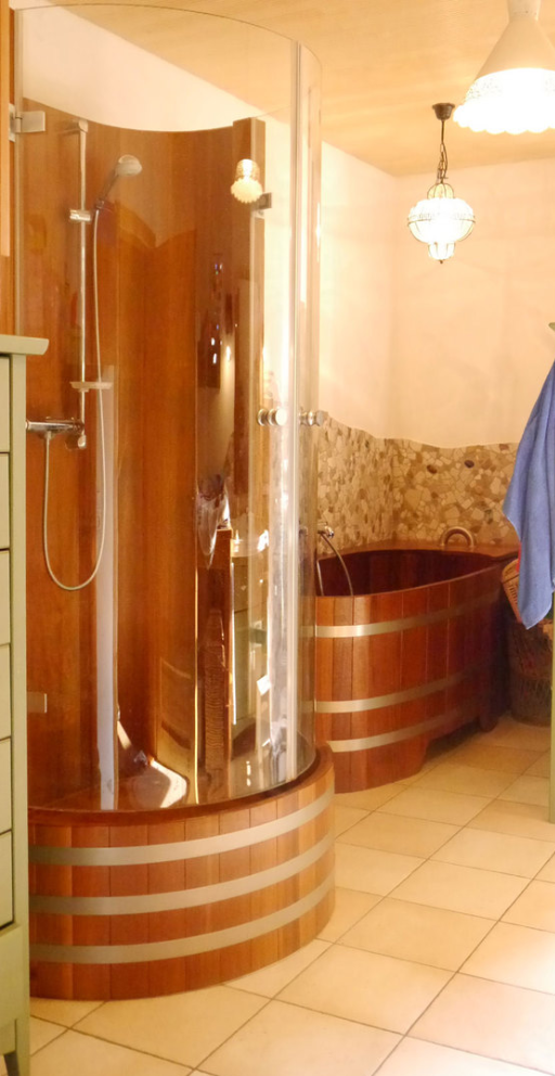 Duschkabine, Holz, Massivholz, Holzdusche, Holzduschkabine, shower cabin, showercabin, Holz-Duschkabine, Massivholz-Dusche, Massivholz-Duschkabine, wood, timber, solid wood, wooden