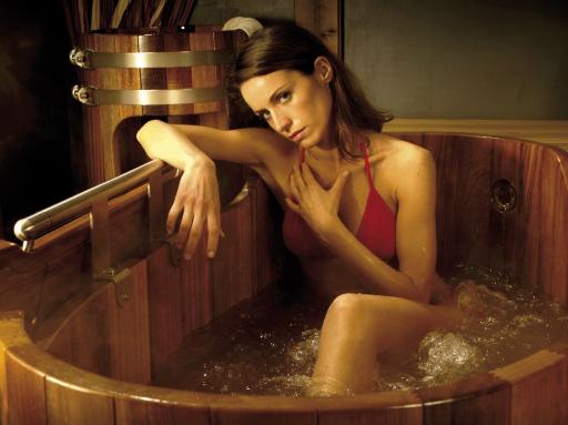 Whirlpool, Holz, Massivholz, Spa, Tub, Holzwhirlpool, Massagebottich Holz-Whirlpool, Holzspa, Massivholzspa, Hottub, Hot-Tub, Sprudelbottich, Whirlpools