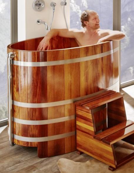Sauna-Tauchbottich, Saunatauchbottich, Badebottich, Tauchbecken, saunatub, sauna-tub, sauna tub, Tauchfass, Saunazuber, Sauna-Zuber, Sauna-Fass, Saunafass, Abkühlbecken, Abkuehlbecken