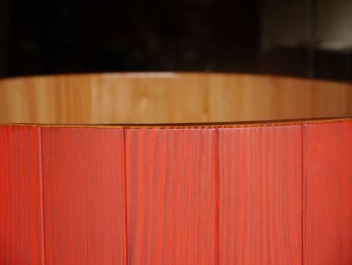 transparente Hygieneversiegelung, Osmo Dekorwachs rot lasierend