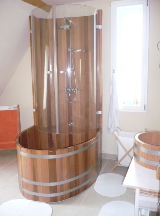 Kombination Duschkabine Badewanne, Dusch-Badewanne, Duschwannen-Kombination