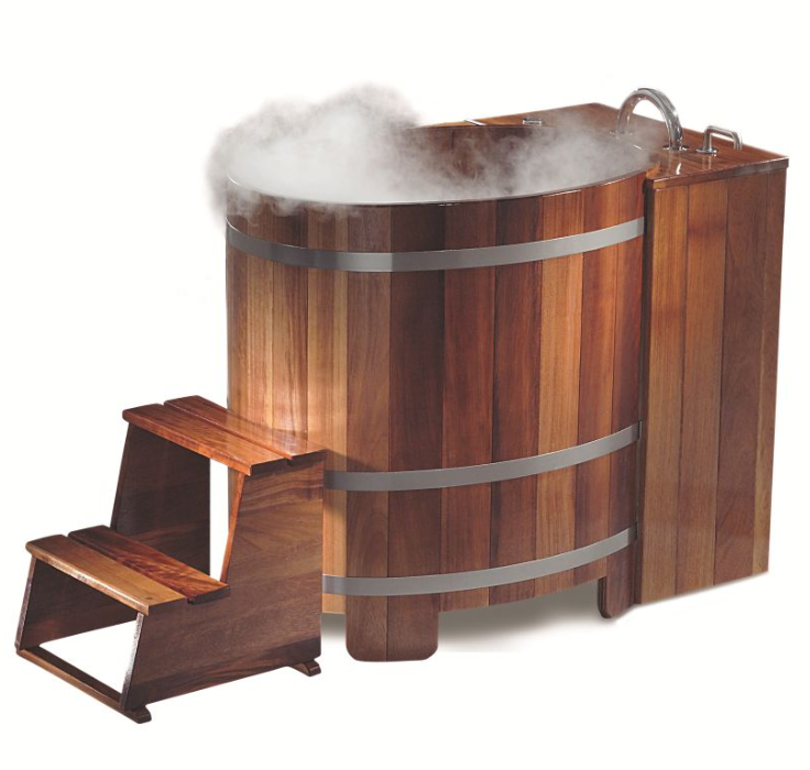 whirlpools und wannen aus massivholz. Black Bedroom Furniture Sets. Home Design Ideas